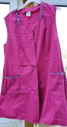 Kasack od. Schürze pink 42 neuwertig Linda Clifford L80 B47