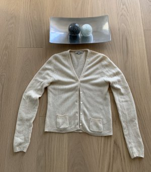 Allude Sweter z dzianiny kremowy-jasnobeżowy