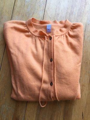 Dolce & Gabbana Wełniany sweter jasny pomarańczowy