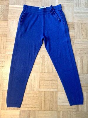 FTC Cashmere Pantalon de jogging bleu cachemire