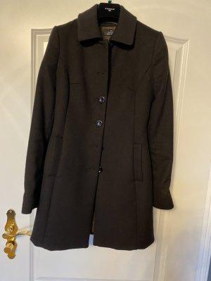 Dolzer Wełniany płaszcz brąz Kaszmir