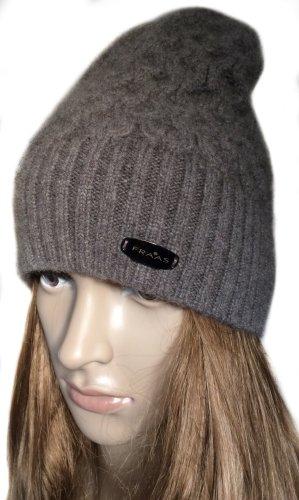 Fraas Sombrero de punto marrón claro Cachemir