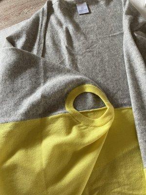 Madeleine Knitted Vest yellow-grey