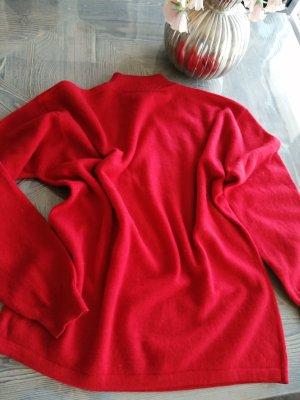 Cashmere Jumper dark red