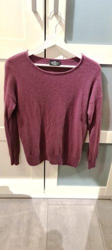 Gina Benotti Kaszmirowy sweter purpurowy-szaro-liliowy