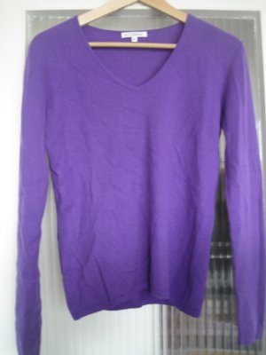 no name Cashmere Jumper dark violet-blue violet cashmere