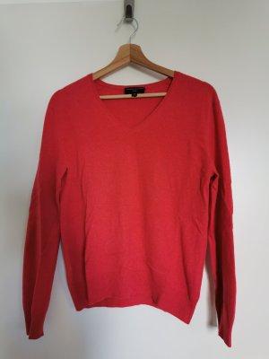 Louisa di Capi Kaszmirowy sweter ceglasty Kaszmir