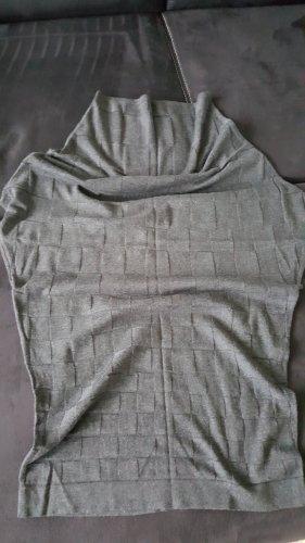 Alba Moda Kaszmirowy sweter ciemnoszary Kaszmir