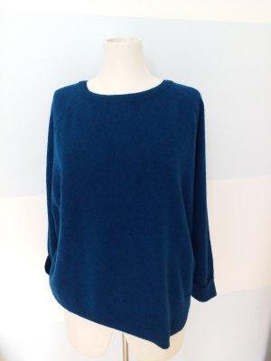 Wrap London Cashmere Jumper blue