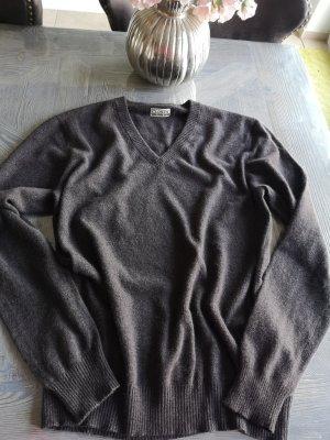 Closed Pullover in cashmere marrone chiaro