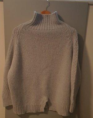 CUCÙ D'AUTIJ Pullover in cashmere grigio chiaro
