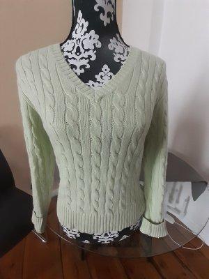 Madeleine Pullover in cashmere menta-verde pallido Cachemire