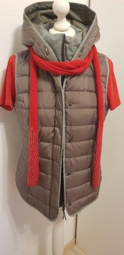Roeckl Szalik z kaszmiru czerwony Tkanina z mieszanych włókien