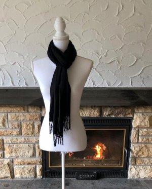 Sjaal van kasjmier zwart Kasjmier