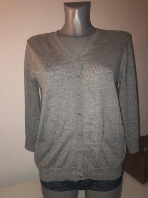 COS Veste en tricot gris