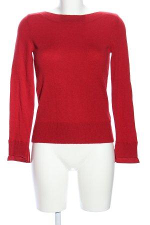 Caroll Gebreide trui rood