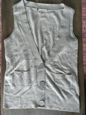 H&M Knitted Vest grey