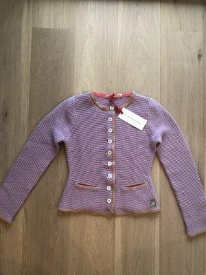 My Herzallerliebst Chaqueta folclórica beige-púrpura