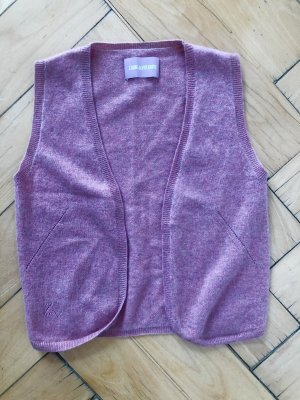 Zadig & Voltaire Smanicato lavorato a maglia color oro rosa