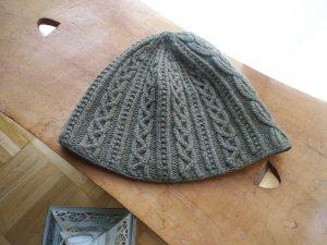 Ralph Lauren Sombrero de punto gris verdoso