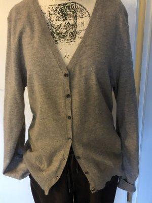 Orwell Giacca in maglia grigio chiaro