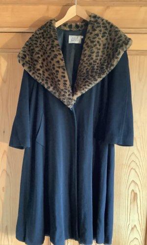 Alba Moda Abrigo de invierno negro Cachemir