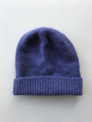 AndOtherStories Cappello a maglia blu Cachemire