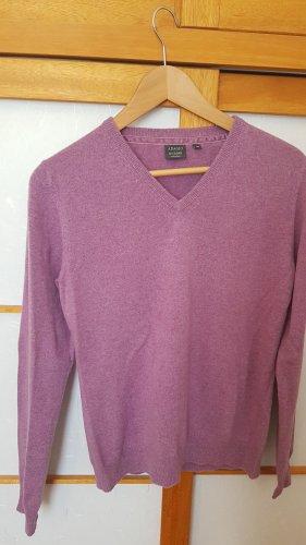 Adagio Jersey con cuello de pico multicolor Cachemir