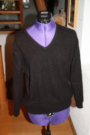 Adagio Pull en laine noir cachemire