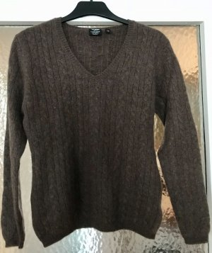 Yorn Cashmere Jumper dark brown