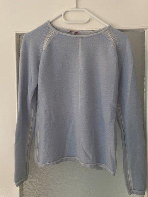 Appelrath-Cüpper Kaszmirowy sweter błękitny Kaszmir