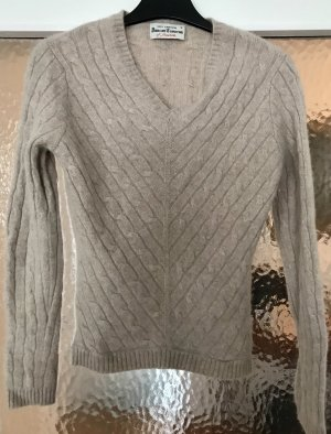 Cashmere Jumper grey brown