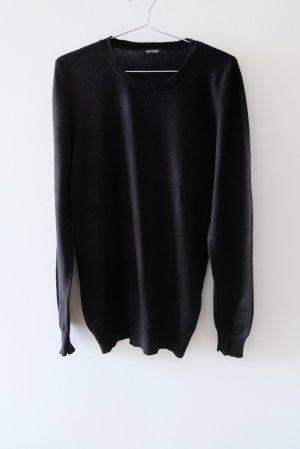 Gerry Weber Kaszmirowy sweter czarny Kaszmir