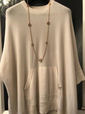Michael Kors Sweter oversize w kolorze białej wełny