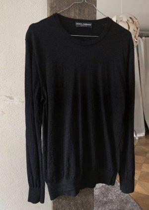 Dolce & Gabbana Kaszmirowy sweter czarny