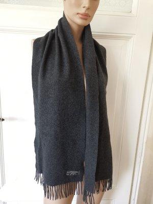 Sciarpa in cashmere grigio scuro Cachemire