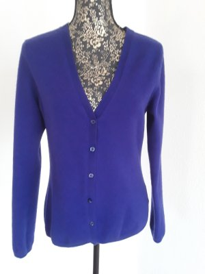 Marie Lund Sudadera de cachemir violeta oscuro-azul