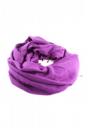 kashmir house Fringed Scarf lilac casual look