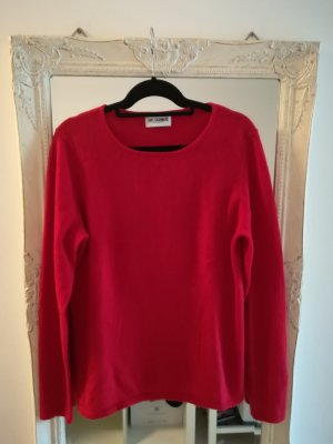 Just Cashmere Pullover in cashmere rosso