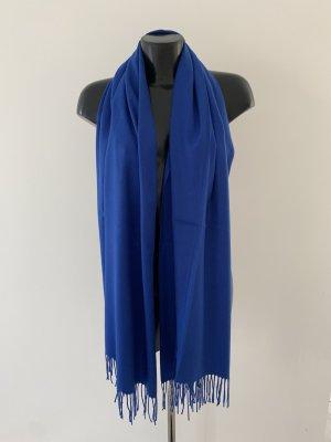 Parideluxe Écharpe en cachemire bleu