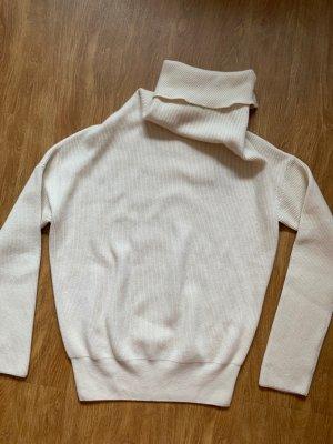 Loro Piana Pullover in cashmere bianco sporco-crema