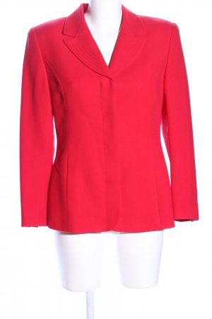 Kasper Kurz-Blazer rot Business-Look