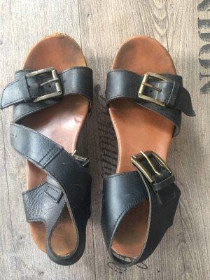 Platform Sandals black-light brown