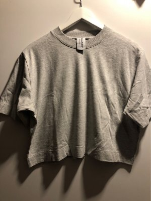 Kastenförmiges Crop-Shirt
