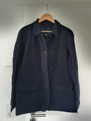 Kastenjacke Damen Übergangsjacke dunkelblau von Esprit Größe L/40 neuwertig