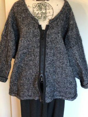 Barbara Speer Coarse Knitted Jacket multicolored
