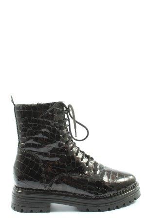Kate Gray Chukka boot noir style décontracté