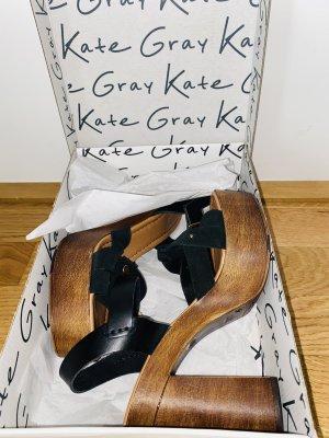 Kate Gray Mule à talon multicolore cuir