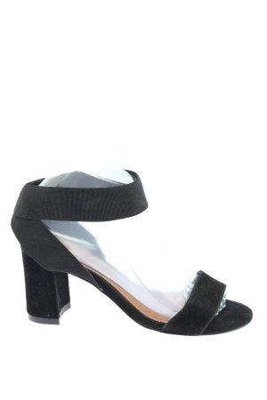 Kate Gray Riemchen-Sandaletten schwarz Casual-Look
