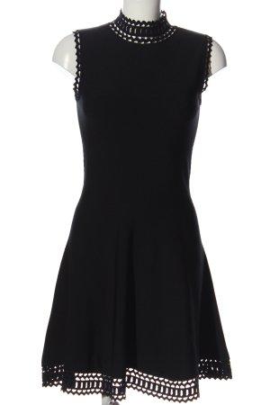 Kate Moss Minikleid schwarz Elegant